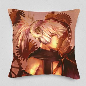 One-Winged Couple Cushion Cover