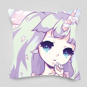 Sakura Unicorn Cushion Cover
