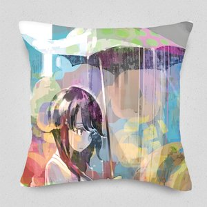 The Rain that Just Won't Stop Cushion Cover