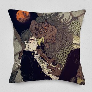 The Discipline Lasts All Night Cushion Cover