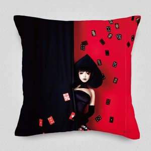 Alice in Wonderland / Card Soldier Cushion Cover