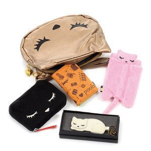 Osumashi Pooh-chan 5-Piece Winter 2017 Lucky Bag