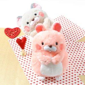 Plushies / Plushie Sets / Plush Pairs: Rat & Rabbit