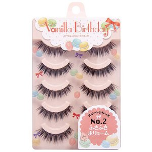 J-Fashion / Makeup & Beauty / Haruka Shimazaki Vanilla Birthday Eyelashes No. 2: Bushy Volume