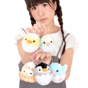 Tamago kara Kotori Tai Bird Plush Collection (Ball Chain)