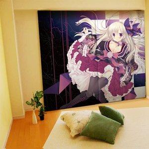 Home & Kitchen / Home Decor / Risa Miyasu Illustrated Curtains