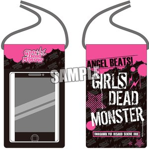 Stationery / Smartphone Accessories / Angel Beats! 1st Beat Girls Dead Monster Splashproof Smartphone Pouch