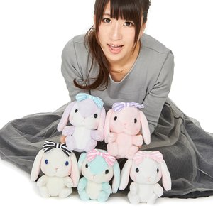 Pote Usa Loppy Dolly Rabbit Plush Collection (Standard)