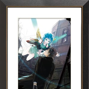 "Art Prints / Art Canvas Boards / ""As-003"" Chara Fine Graph Print"