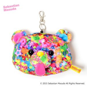 Sebastian.M Time After Time Capsule Bear Mascot Reel Pass Case