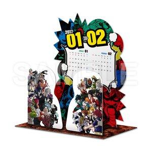 Art Prints / Calendars / My Hero Academia 2017 Desktop Diorama Calendar