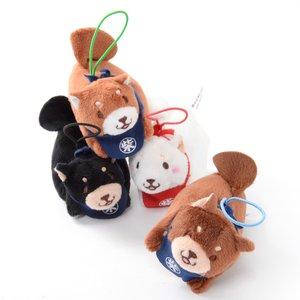 Plushies / Plushie Accessories / Chuken Mochi Shiba Piyon Dog Screen Cleaning Mini Plush Collection