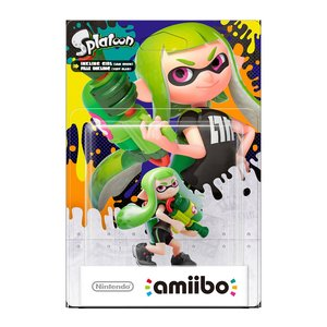 Gaming / Game Accessories / Splatoon Inkling Girl amiibo (Alt Color)