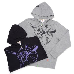 Otaku Apparel & Cosplay / Tops / Evangelion x Dickies Unit-01 Graphic Print Zip-Up Hoodie