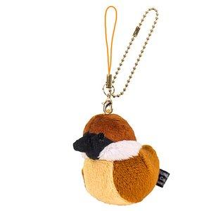 Toys & Knick-Knacks / Collectable Toys / Plushies / Plushie Sets / Irotoridori Sparrow Keychain Strap