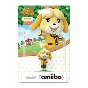 Gaming / Game Accessories / Animal Crossing Series Wave 1 Isabelle Winter Outfit amiibo (US Ver.)
