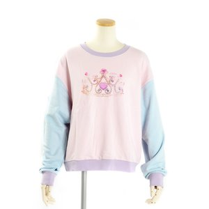 milklim Princess Tiara Sweatshirt