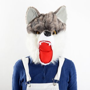 Otaku Apparel & Cosplay / Cosplay Props / Werewolf Plush Mask