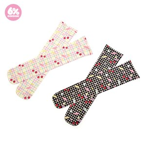 J-Fashion / Socks & Tights / 6%DOKIDOKI Gingham Cherry Over-the-Knee Socks
