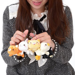 Daramofu-san Minna Nakayoshi Plush Collection (Mini Ball Chain)