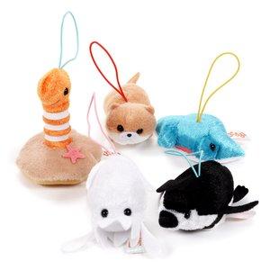 Puchimaru Aquarium Animal Plush Collection (Mini Strap)