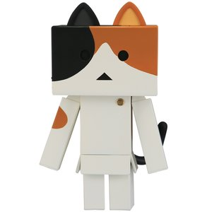 Toys & Knick-Knacks / Collectable Toys / Soft Vinyl Figures / Sofubi Toy Box Nyanboard Calico Cat