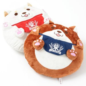 Home & Kitchen / Cushions / Plushies / Plushie Accessories / Chuken Mochi Shiba Big Round Cushions