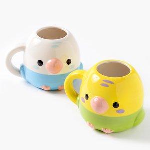 Home & Kitchen / Mugs & Glasses / Kotori Tai Bird Die-Cut Mugs