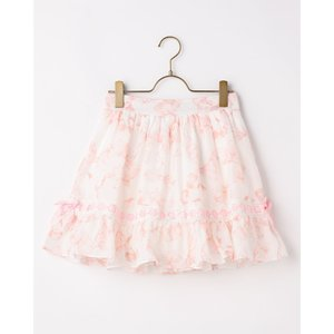 LIZ LISA Ribbon Pattern Sukapan Skirt