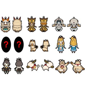 Monster Hunter XX Rubber Mascot Collection
