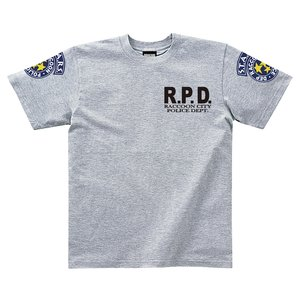 Resident Evil S.T.A.R.S. Gray T-Shirt