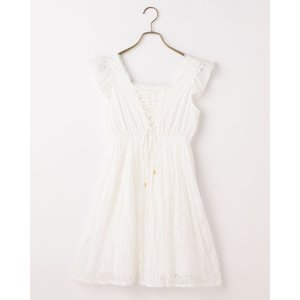 LIZ LISA Pleated Lace Dress