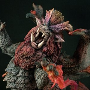 Capcom Figure Builder Creators Model Monster Hunter Flame King Dragon Teostra
