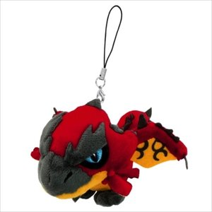 Plushies / Plushie Accessories / Monster Hunter Rathalos Mini Plush