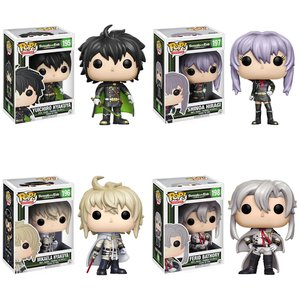 Pop! Anime: Seraph of the End - Complete Set