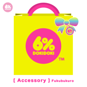 6%DOKIDOKI Accessory Filled Lucky Bag