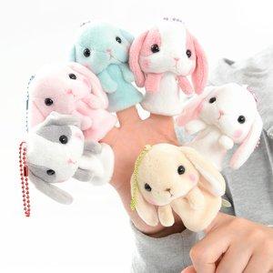 Plushies / Plushie Sets / Pote Usa Loppy Rabbit Mini Puppets