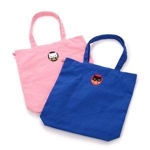Daruma Pooh-chan Reversible Tote Bag