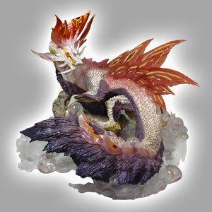 Capcom Figure Builder Creaters Model Monster Hunter XX Mizutsune (Angered)