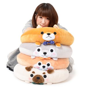 Mameshiba San Kyodai Dog Donut Cushions Vol. 2