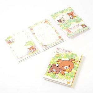 Stationery / Notebooks & Memo Pads / Rilakkuma Korilakkuma to Atarashii Otomodachi Flipbook Memo Pads