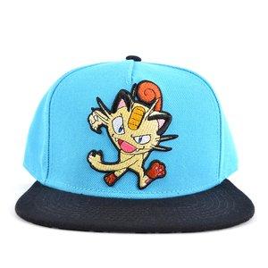Pokémon Meowth Color Block Snapback
