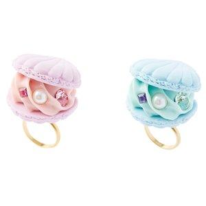 J-Fashion / Jewelry & Hair Accessories / Q-pot. Parlor Shell Macaron Rings