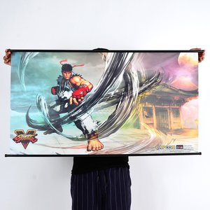 Art Prints / Posters / Street Fighter V Ryu Wall Scroll Poster