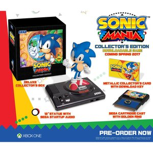 Gaming / Video Games / Sonic Mania Collector's Edition (Xbox One)