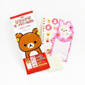 Home & Kitchen / Snacks / Rilakkuma Gum & Sticker Set