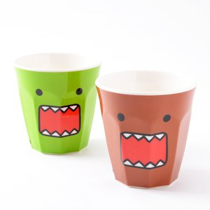 Home & Kitchen / Mugs & Glasses / Domo Face Melamine Cups