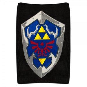Home & Kitchen / Blankets / Nintendo Zelda Hylian Shield Throw Blanket