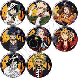 My Hero Academia Halloween Character Badge Collection