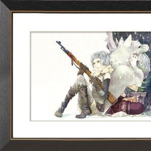 "Art Prints / Art Canvas Boards / ""As-002"" Chara Fine Graph Print"